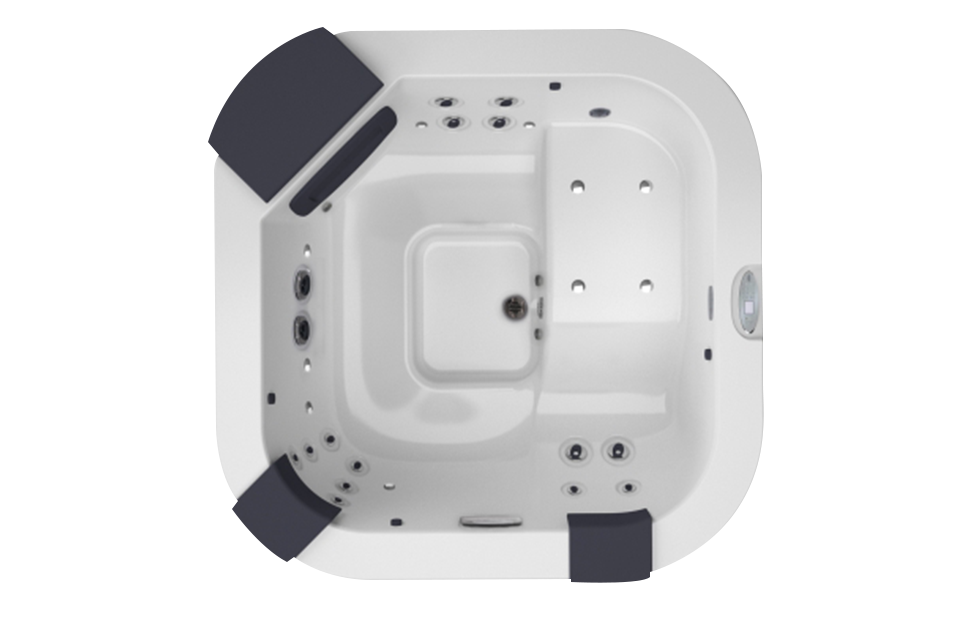 spa 4 places jacuzzi delfi