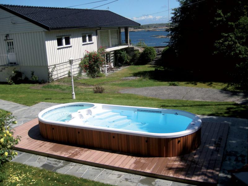 Spas de nage AquaFit 19 DT